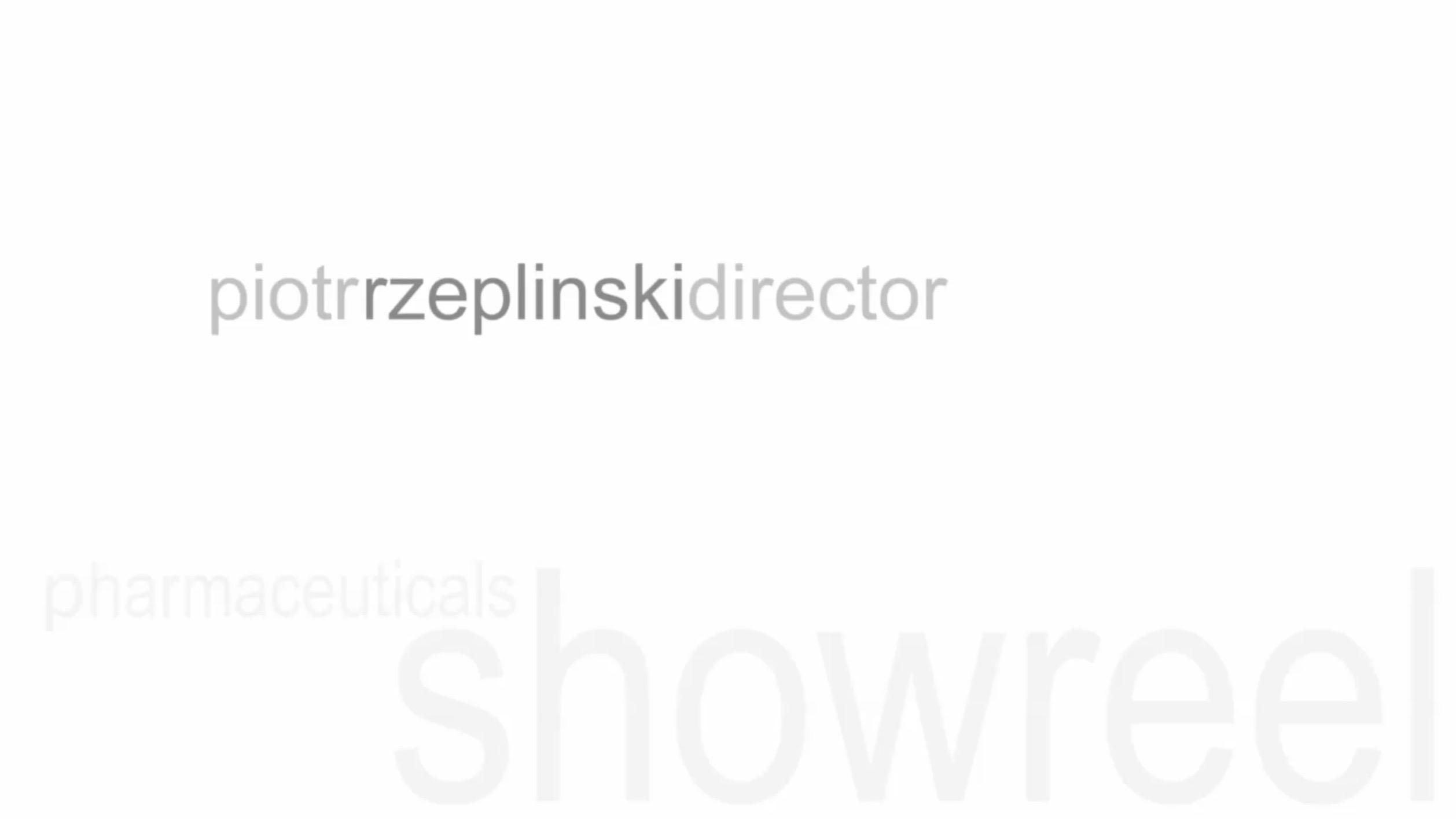 RZEPLINSKI DIRECTOR Pharmaceutical SHOWREEL 2018
